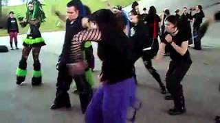 getlinkyoutube.com-Cybergoth Dance Party