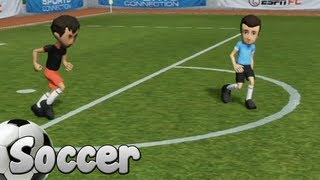 Sports Connection Wii U Gameplay - Soccer