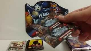 getlinkyoutube.com-World Of Warriors Booster Box Opening (Part 1.)
