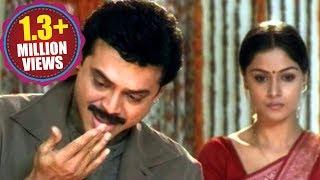 getlinkyoutube.com-Venkatesh emotional..dialogues with Simran, Prematho Raa