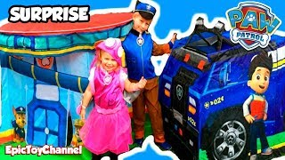 "getlinkyoutube.com-PAW PATROL ""Live Action Parody"" with Chase & Skye Paw Patrol Costumes + Paw Patrol Look Out"