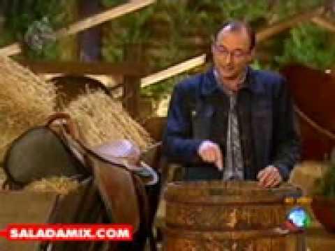 A Fazenda Dado discute com Brito Junior ao vivo