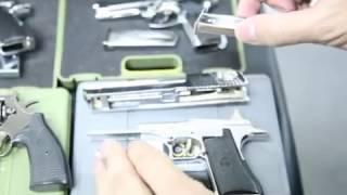 getlinkyoutube.com-1:2 Model guns M1911, M92, DE by crw-airsoft.com