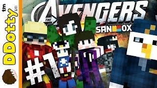 getlinkyoutube.com-범죄자 어벤져스!! [경찰과 도둑: 어벤져스 모드 #1편] 마인크래프트 Minecraft - Cops and Robbers 'Avengers Mod' - [도티]