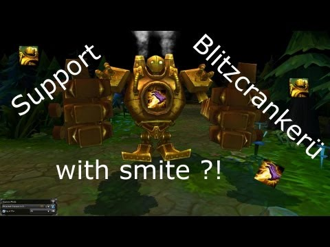 Flip League of Legends: New Meta: Smite on Support! (Smitecrank)