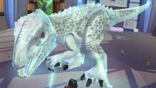 getlinkyoutube.com-LEGO Jurassic World (PS Vita) - All Dinosaur Holograms (Complete Holoscape)