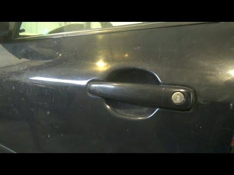 Как снять наружные дверные ручки. Peugeot 307.