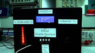 3 Band Graphic Equalizer