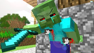 getlinkyoutube.com-Zombie Life - Craftronix Minecraft Animation