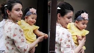 Soha Ali Khan's cute daughter Inaaya Khemu looks like doll as she poses cutely
