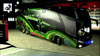 getlinkyoutube.com-Euro Truck Simulator2 Bus Dance #03 By Jerry