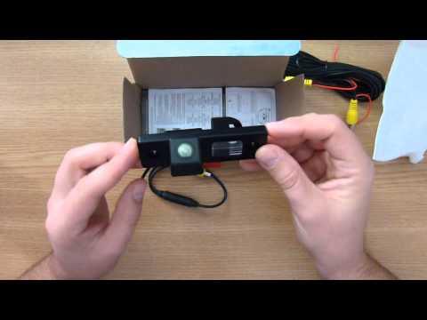 Камера заднего вида на Chevrolet lacetti