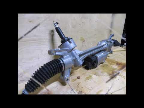 Рулевая рейка Mercedes w213 4matic A2134605801