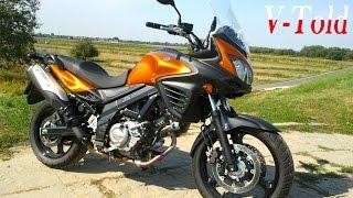 getlinkyoutube.com-Suzuki V-Strom DL 650 design details & exhaust sound