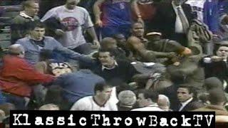 getlinkyoutube.com-Throwback: Pacers vs Pistons Brawl - Full (2004)
