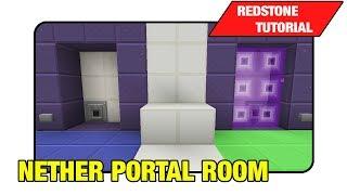 "getlinkyoutube.com-Nether Portal Room ""Tutorial"" (Minecraft Xbox/Ps3 TU16)"