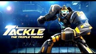 getlinkyoutube.com-Real Steel WRB The Triple Threat - Tackle VS WRB GOLD (Живая Сталь)