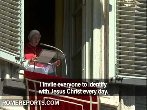 Pope's Angelus  Preaching in a new way to promote the New Evangelization