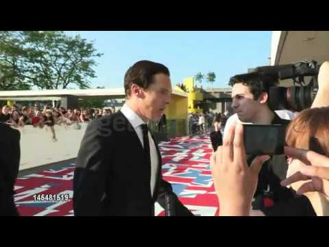 Benedict Cumberbatch -  BAFTA red carpet footage