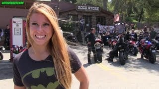getlinkyoutube.com-Riding a Scooter in California with this Sexy Blonde Girl! Damn so Sexy!!