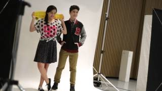 getlinkyoutube.com-B/TV: Behind The Scenes - Mavy & Cassy for BENCH/ Body Spray