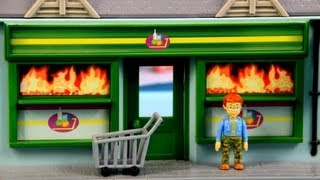 getlinkyoutube.com-Sklep Spożywczy /  Mini Supermarket Playset - Fireman Sam / Strażak Sam - Character