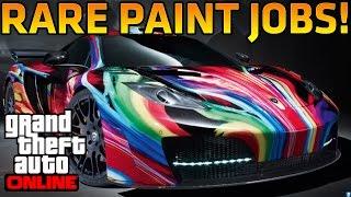 "GTA 5 Online: NEW ""Rare Paint Jobs"" (Royal Flush, Dark Gold & Flamed Bronze)"