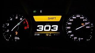 getlinkyoutube.com-Alfa Romeo Giulia QV 2016 - acceleration 0-303 km/h, top speed test and more