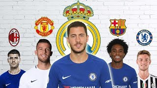 Latest Transfer News: Hazard to Real Madrid, Willian to Barcelona and more width=
