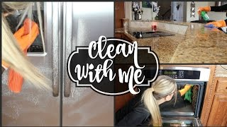 getlinkyoutube.com-💜  CLEAN WITH ME 💜  CLEANING MOTIVATION - DEEP CLEAN KITCHEN - ROUTINE