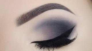 getlinkyoutube.com-♡  Shades Of Grey ♡ Smokey Eyes Make Up Tutorial ♡ (English)