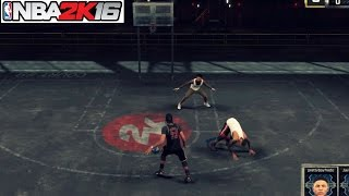 getlinkyoutube.com-NBA 2K16| Got my Ankles broken at the park ... - Prettyboyfredo