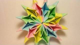 getlinkyoutube.com-Origami Fireworks (Yami Yamauchi) - long version
