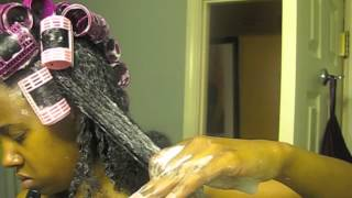 "getlinkyoutube.com-131: Natural Hair Styling Tutorial ""RollerSetRevival"""
