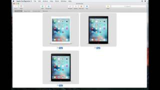 getlinkyoutube.com-Apple Configurator 2 - How to Apply a Blueprint to Multiple iPads