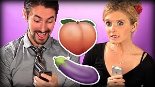 Couples Sext For The First Time