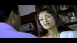 Santa Movie Scenes - Police officer blackmailing Sridevika to marry his son and avoid Shivaraj