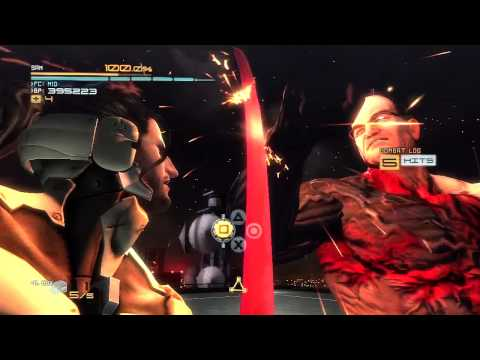 Metal Gear Rising: Sam DLC Armstrong Boss Fight HD