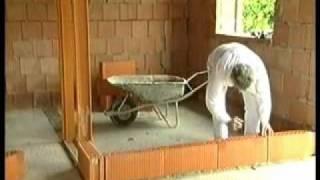 getlinkyoutube.com-Кладка керамических блоков Porotherm (зарубежное видео)