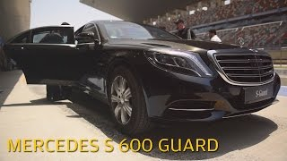 getlinkyoutube.com-Mercedes S Guard: All you need to know about President Pranab Mukherjee's armoured car