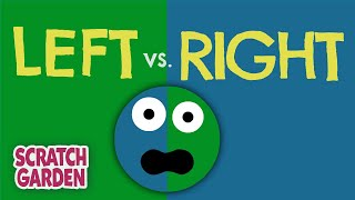 getlinkyoutube.com-The Left vs. Right Song! | Scratch Garden