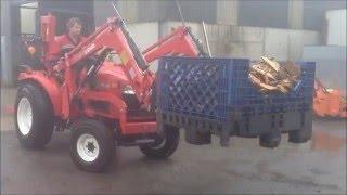 Siromer moving log bins
