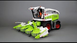 getlinkyoutube.com-CLAAS JAGUAR 900 IN LEGO VERSION BY ERIC TRAX