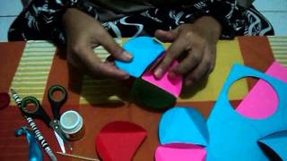 getlinkyoutube.com-Origami Membuat Lampion Cantik