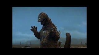 getlinkyoutube.com-godzilla (64), jirass, and gomess - buried beneath (fan video/tribute)