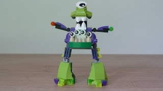 getlinkyoutube.com-LEGO MIXELS GURGGLE VAKA WAKA MURP Instructions Lego 41549 Lego 41553 Mixels Series 6