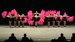 getlinkyoutube.com-2012 Australian Drill Dance Championships - Senior 1st Place Prop Precision - Black Diamonds