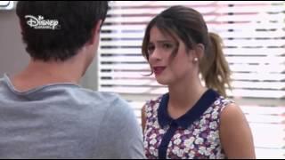 getlinkyoutube.com-Violetta 2 - Violetta muss mit Diego das Duett singen + Dieletta Moment (Folge 17) Deutsch