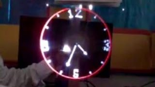getlinkyoutube.com-The Propeller Clock - Rotating Display