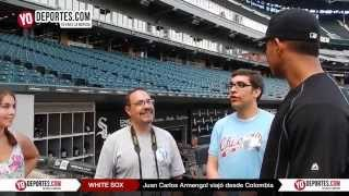 Jose Quintana recibe al colombiano Juan Carlos Armengol White Sox